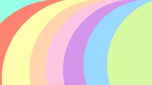 Rainbow Colors Zoom Background Social Post Presentation
