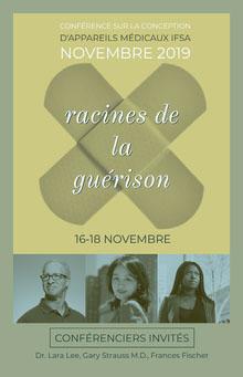 medical design event poster Affiche
