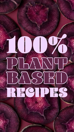 Violet Plant Based Purple Instagram Story  Plants