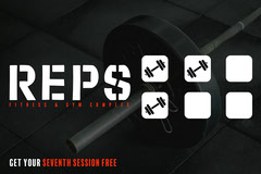 REPS Fitness and Gym Loyalty Stamp Card Gym