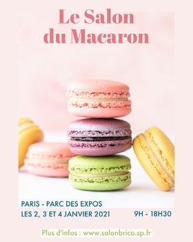 Le Salon du Macaron Flyer événement