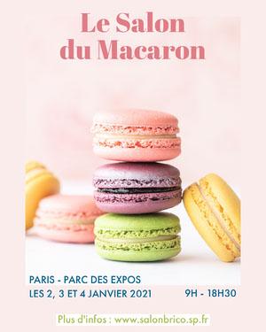 Le Salon du Macaron Affiche événementielle