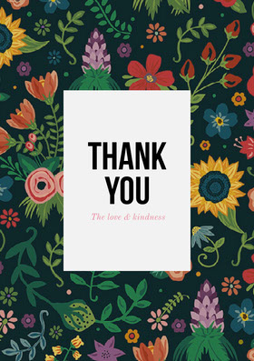 thank you card Thank You Card