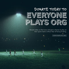 Sport Philanthropy Instagram Square with Soccer Players Soccer