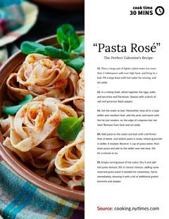 """""""Pasta Rosé"""" Recipes"""