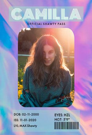 Holographic Shawty Pass Shawty Pass