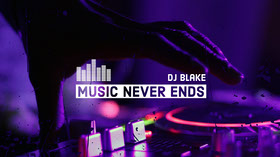 Music DJ Youtube Channel Art Banner per YouTube