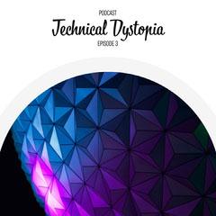 Dark Purple Technical Dystopia Podcast IG Square Podcast