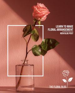 Floral Arrangement Instagram Portrait Flowers