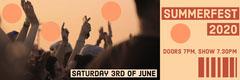 Orange Summer Festival Concert Ticket Festival