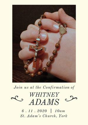 confirmationinvite Confirmation Invitation