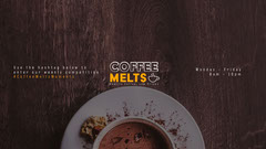 Coffee Melts Facebook Cover Coffee