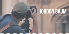 Photographer LinkedIn Banner with Man with Camera Photography