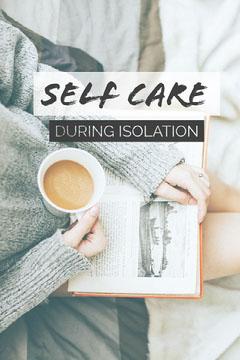 Self Care - Isolation Pinterest Post Tea Time