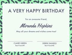 Miranda Hopkins  Friends