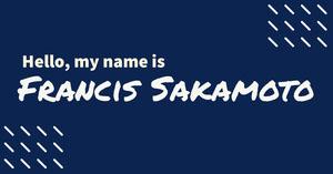 Francis Sakamoto Balise de nom