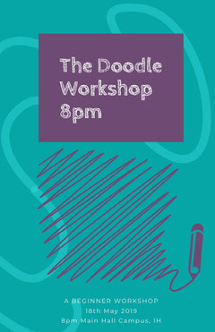 The Doodle Workshop 8pm Workshop
