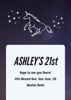 ASHLEY'S 21st Girls