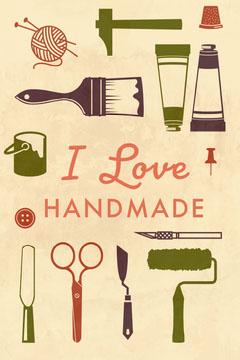 Cream Love Handmade Pinterest Paint