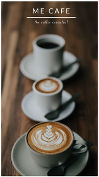 cafe instagram story  Social Media Marketing