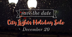 City Lights Holiday Sale Holiday Sale