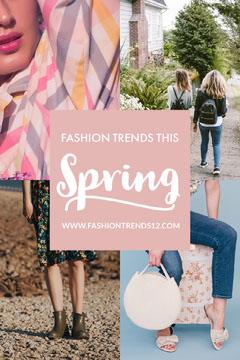 Fashion Trends spring Pinterest post Spring