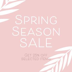 spring sale instagram  Advertisement
