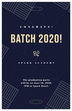 BATCH 2020! Graduation