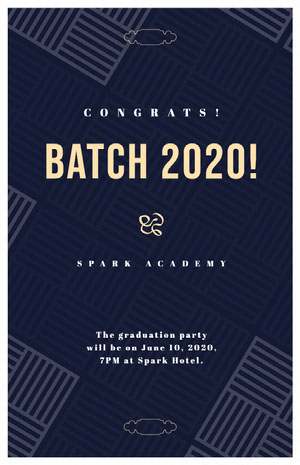 BATCH 2020! Graduation Card