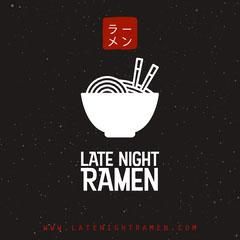 Black Late Night Ramen Instagram Square Ramen