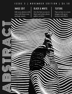 magazine-cover Black And White