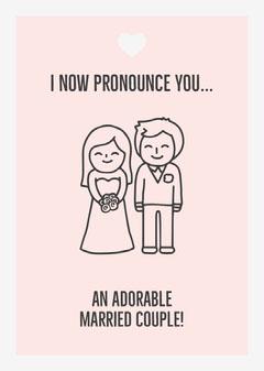 I now pronounce you... Weddings