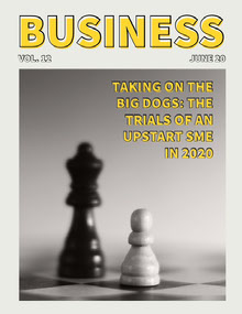 Yellow and Gray Chess Piece Business Magazine Cover Magazine Cover