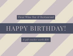Purple Restaurant Birthday Coupon Restaurants