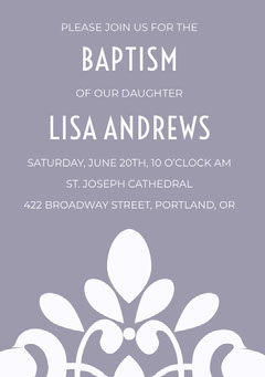 BAPTISM <BR>LISA ANDREWS  Christianity