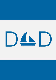 Blue Sailboat Fathers Day Card Boats
