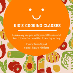 KID'S COOKING CLASSES Cooking