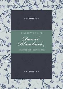 Daniel Blanchard Programa funerario