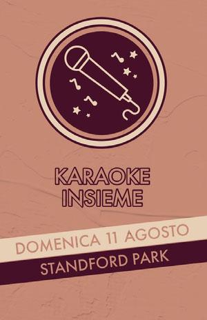 community karaoke event poster  Poster eventi