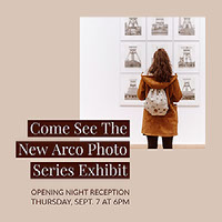 Come See The New Arco Photo Series Exhibit Email Invitation