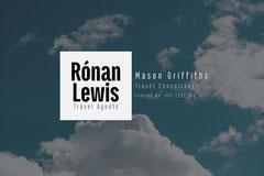 Clouds Ronan Lewis Business Card Sky