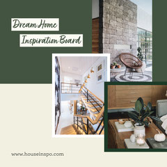 cream green home interior design mood board instagram square Interior Design