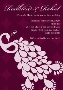 Radhika & Rahul Wedding Cards