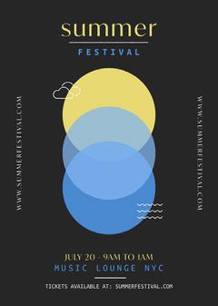 Summer Festival Flyer Festival