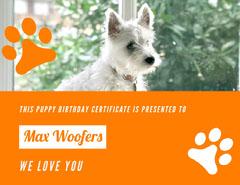 Max Woofers Birthday