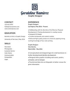 Geraldine Ramirez Designer