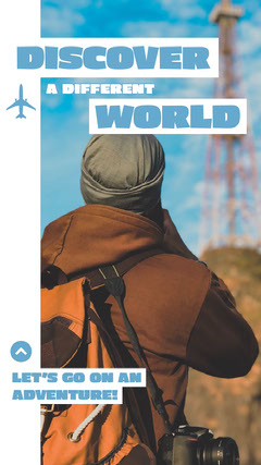 Discover a Different World Instagram Story Adventure