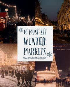 Must-see Winter Markets Instagram Portrait Winter