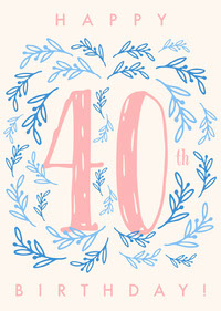 40 Birthday Cards for Mother