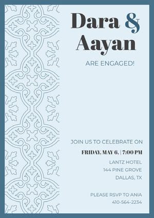 Dara & Aayan Festinvitation